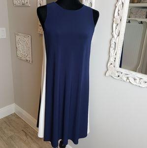 LAUREN Ralph Lauren Double Layer Sleeveless Dress